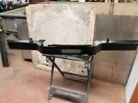 Land rover defender winch bumper