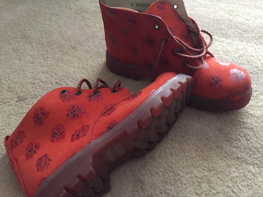 Girls boots size 3 Next like docs timberland cat