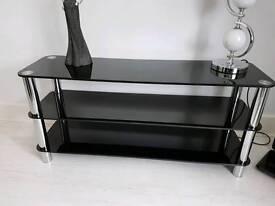 Tv bench gloss black