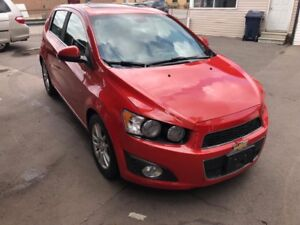 2013 Chevrolet Sonic RS $4900