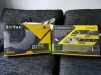 Gtx 1070ti Zotac AMP Edition x 2