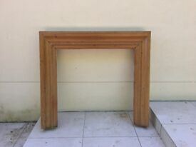 Solid Wood Pine Fire Place Surround Mantel Mantelpiece 36 x 36""