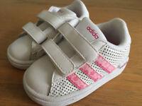 baby girl adidas trainers 3K