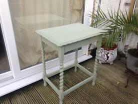 Gorgeous hand painted retro table.