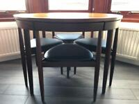 Vintage MCM Danish 'Roundette' Extending Table - Hans Olsen; Frem Rojle