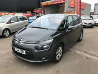 2014 CITROEN C4 GRAND PICASSO VTR + AIR HDI AUTO ** 0 ROAD TAX ** 7 SEATER MPV 12 MONTHS WARRANTY