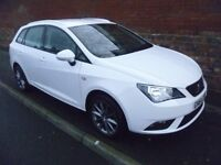 SEAT IBIZA I-TECH 1.2L 2014 REG, 20,000 MILES, TOP SPEC WITH HALF LEATHER & ALLOYS & £30 A YEAR TAX