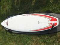 6ft7 Surfboard with bag