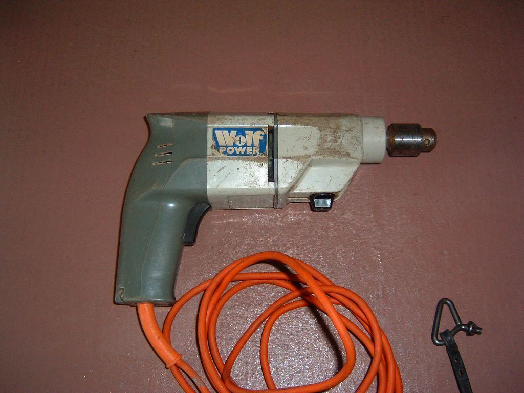 Wolf Sapphire Electric Drill 2 Speed Vgc In Locks