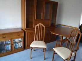 Job lot - teak furniture