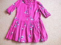 GIRL'S JOULES DRESS. AGE 7 YEARS.