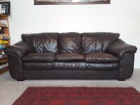 QUICK SALE REQ FOR 2 and 3 seater leather sofas