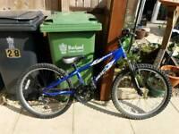 Saracen boys mountain bike