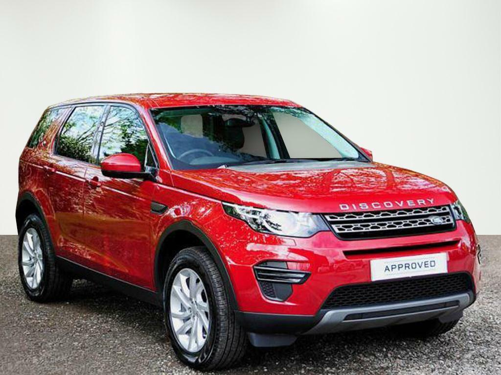 Land Rover Discovery Sport Td4 Se Red 2016 09 29 In