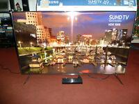 SAMSUNG UE49KS7000 4K ULTRA HD 2100 PQI QUANTUM DOT DISPLAY SMART APPS