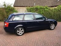 AUDI A4 ESTATE, LOW MILEAGE