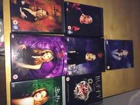 Buffy DVD's series 1-7
