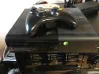 X box 360 s console with 1 wireless pad