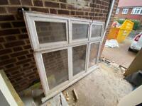 3 wood window