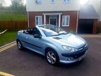 Peugeot 206 CC Full service history only 2 former owners