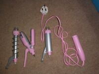 Hair straighteners/curlers