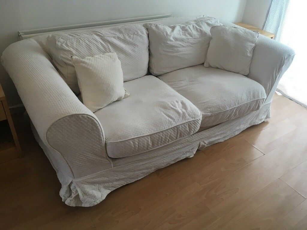 white sofa bed for sale in finaghy belfast gumtree. Black Bedroom Furniture Sets. Home Design Ideas