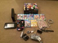 Nintendo Wii U Console, games bundle.