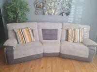 Recliner sofa's