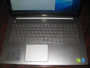 "Dell Inspiron Laptop. 17.3"" Touchscreen Display. Intel i7. 16GB RAM. 1TB HDD. Nvidia GeForce 2GB Graphics. WebCAM HDMI"