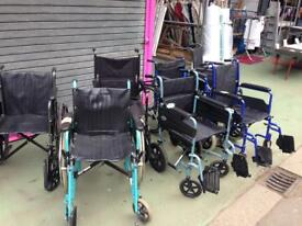 WHEELCHAIRS FOR SALE Choice of 7
