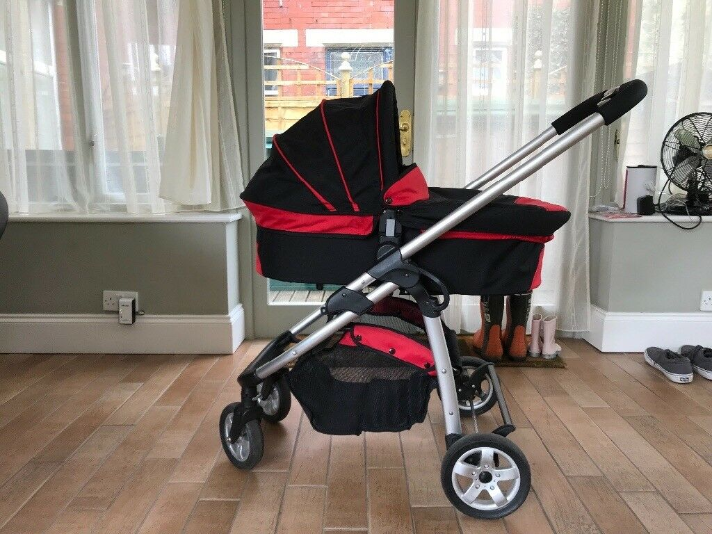 iCandy Cherry Travel System Red/Black - stroller, carrycot ...