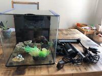 Aqua One Aqua Aspire 22 Glass Aquarium 22 Litre