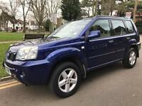 Nissan x-trail 2.2 sport 2004 lovely car long mot,p-ex welcome aa/rac welcome
