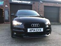 2014 Audi A1 S Line Black Edition 1.4TFSI 185 PS S tronic