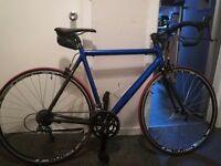 16 Speed Custom Built Road Bike Super Light Alloy & Carbon Fibre