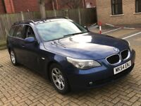 NEWER SHAPE BMW 525D 2.5 5 SERIES SE DIESEL MANUAL TOURING ESTATE FULL SERVICE TOW BAR N 520 530 X5