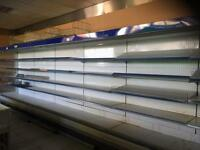 Refrigeration for sale plus shop fitting shelving and one epos with scanner and unit to let