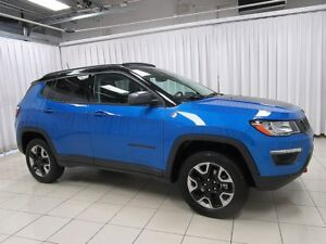 2017 Jeep Compass IT'S A MUST SEE!!! TRAILHAWK TRAIL RATED 4x4 S