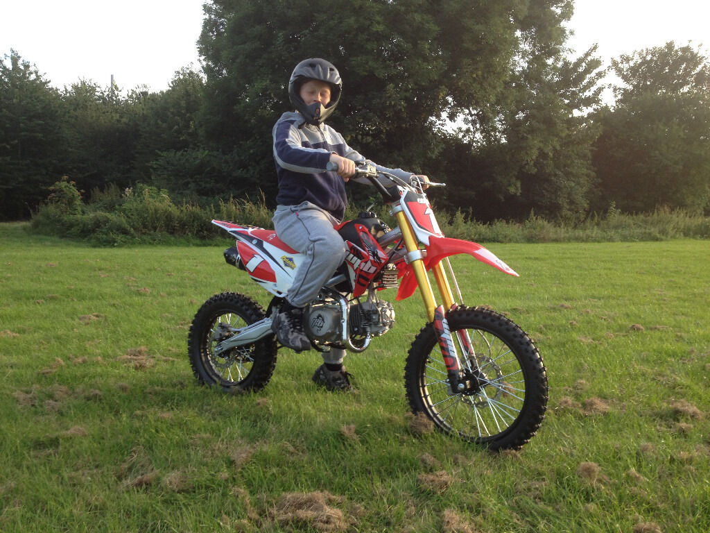 Ride On Mower >> welsh pit bike wpb race 140 (only two weeks old) as new ...