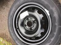 Vauxhall Corsa Steel Wheel & Tyre