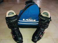 Lance Ski Boots Black Size 275 (UK 8 1/2) as new