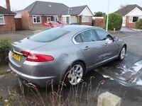 Jaguar xf 3.0D auto in grey