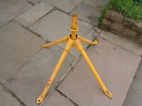 belle 130 cement mixer stand