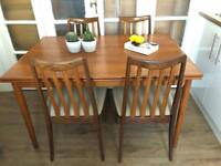 Vintage Table and Chairs Free Delivery Ldn G-PLAN midcentury