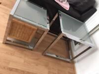 Nest of two glass tables in great condition £20 ono