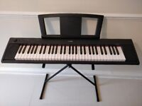Yamaha NP11 Digital Piano/Keyboard with stand