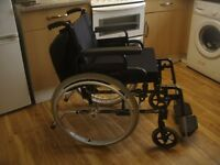 Invacare Action 2000 Black Lightweight Self Propelled Wheelchair Superb Condition