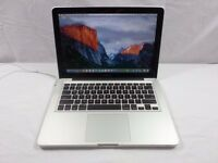 Macbook Pro Apple Aluminum laptop 1TB (1000gb) hard drive 6gb ram memory