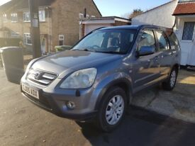 LOW MILEAGE,HPI CLEAR,AUTOMATIC,2005 HONDA CRV-I-VTEC,100000 MILES,FULL SERVICE HISTORY,TWO KEYS