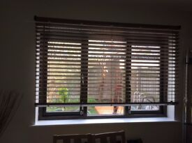 Marco Mid Brown Wooden Blind